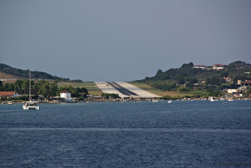 Skiathos Airport Greece