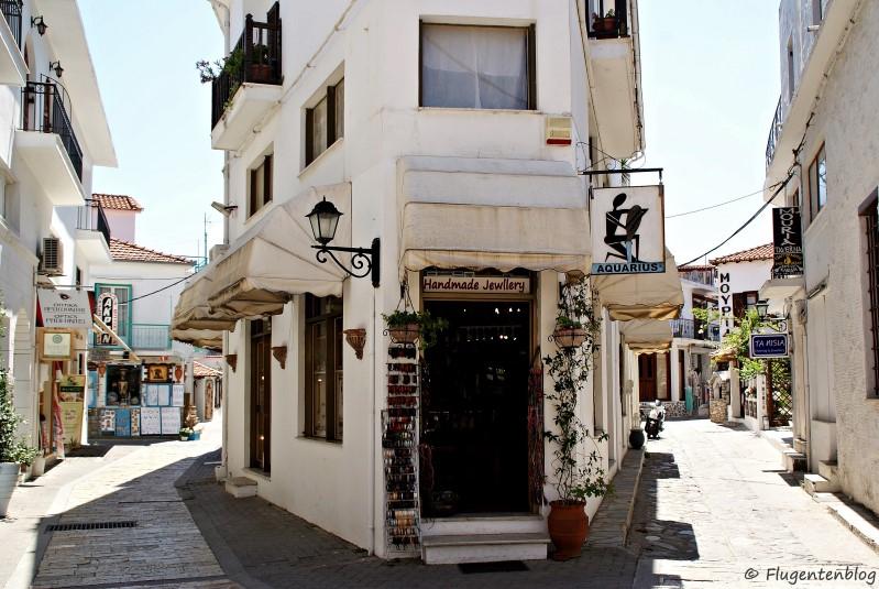 Griechenland Insel Skiathos Stadt