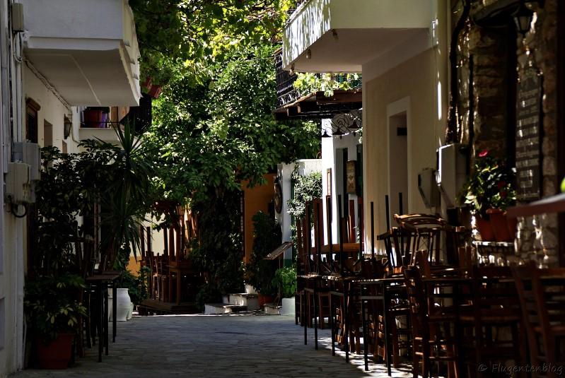 Griechenland Skiathos Stadt