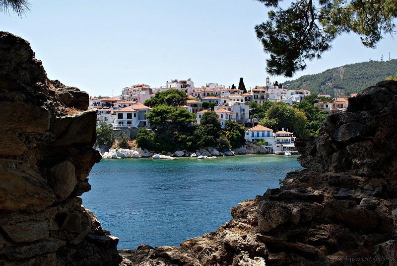 Griechische Inseln Skiathos Bourtzi