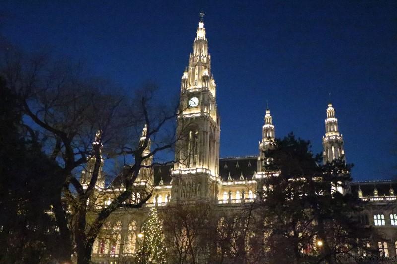 Wien Rathaus Christkindlmarkt