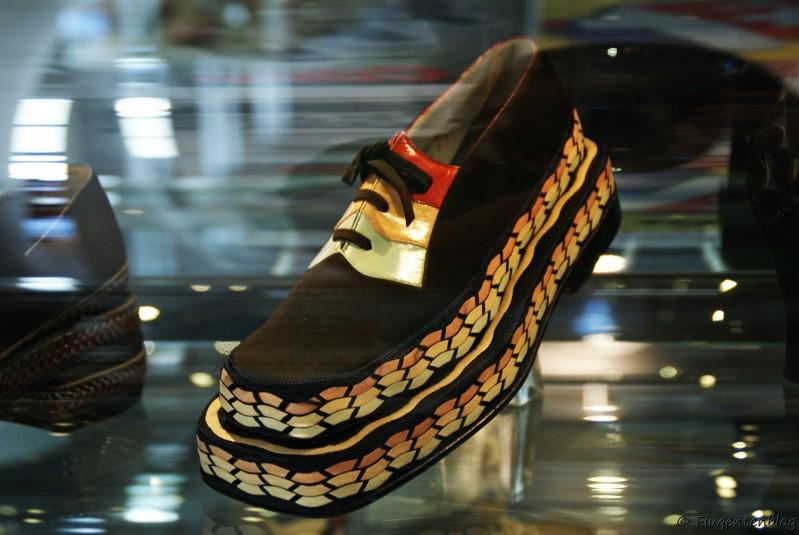 Tschechien Zlin Museum Bata Schuhe