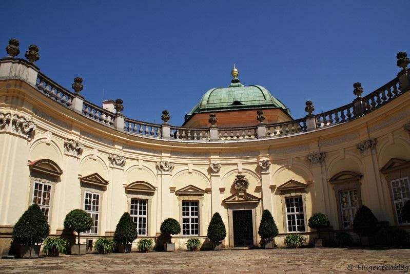 Tschechien Schloss Buchlovice