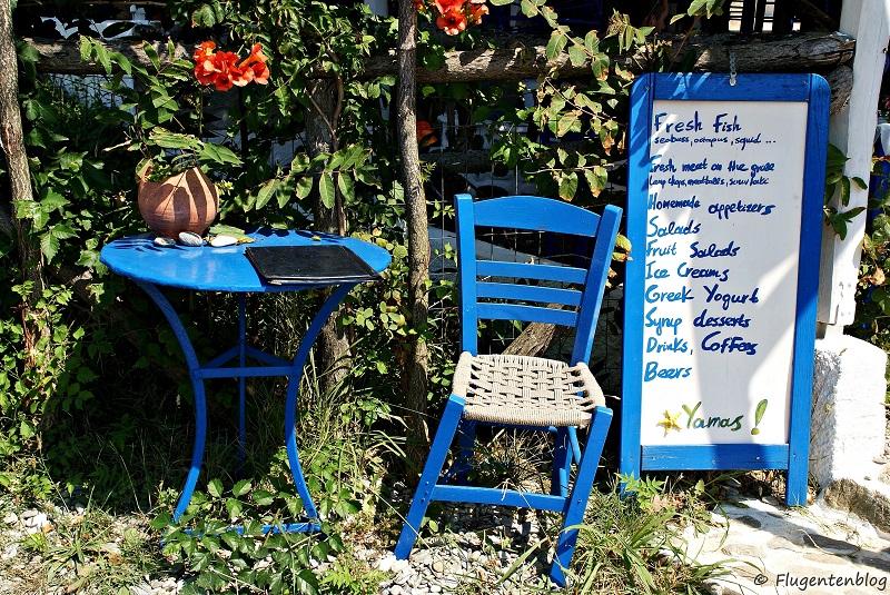 Skiathos Strand Ligaries Beach Taverne