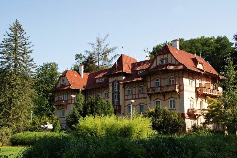 Tschechien Kur Luhacovice Hotel Jestrabi