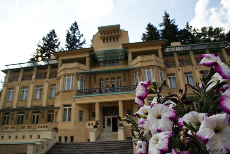 Tschechien Kur Bad Luhacovice Hotel Dum Smetany
