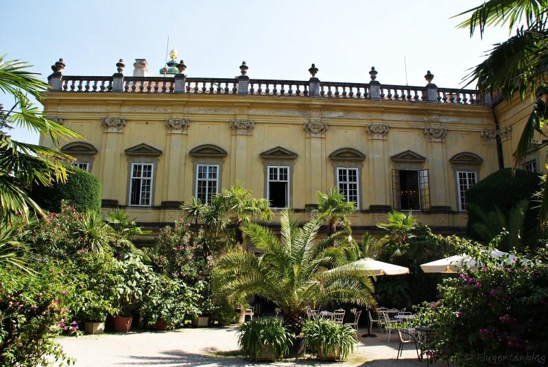 Tschechien Schloss Buchlovice Cafe