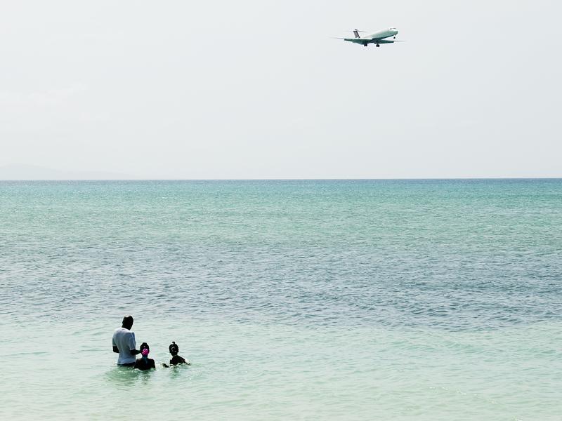 Jamaika Meer Strand Flughafen