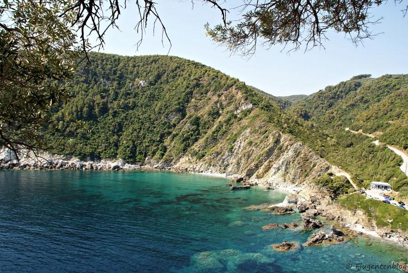 Griechenland Skopelos Strand Ioannis Beach