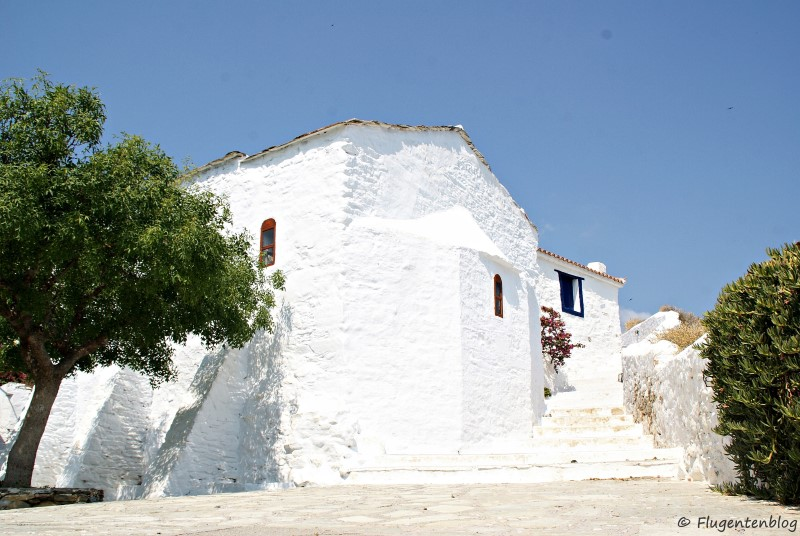 Griechenland Skopelos Kirchen Athanasi