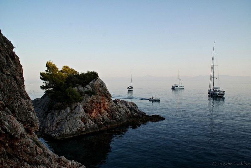 Griechenland Skopelos Strand Cape Stafilos