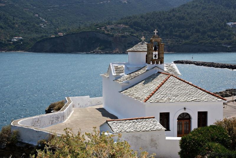 Griechenland Kirchen Skopelos Virgin Mary Panagitsa