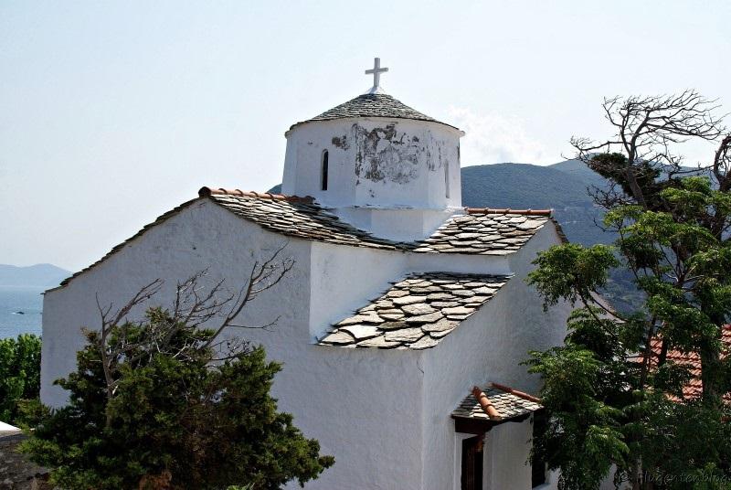 Griechenland Skopelos Kirchen Evagelistria