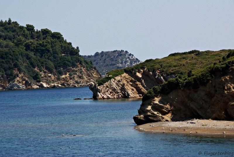 Griechenland Faehre Skiathos Skopelos
