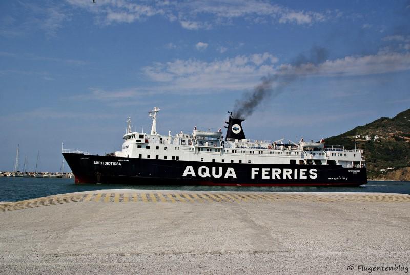 Griechenland Skopelos Faehre Ferry