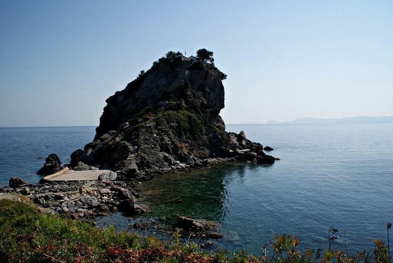 Griechenland Skopelos Mamma Mia Chapel
