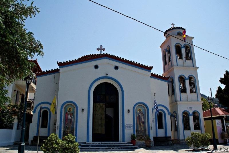Griechenland Skopelos Loutraki Kirche