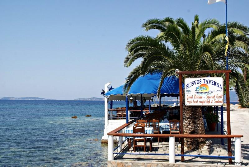 Griechenland Skopelos Loutraki Taverne