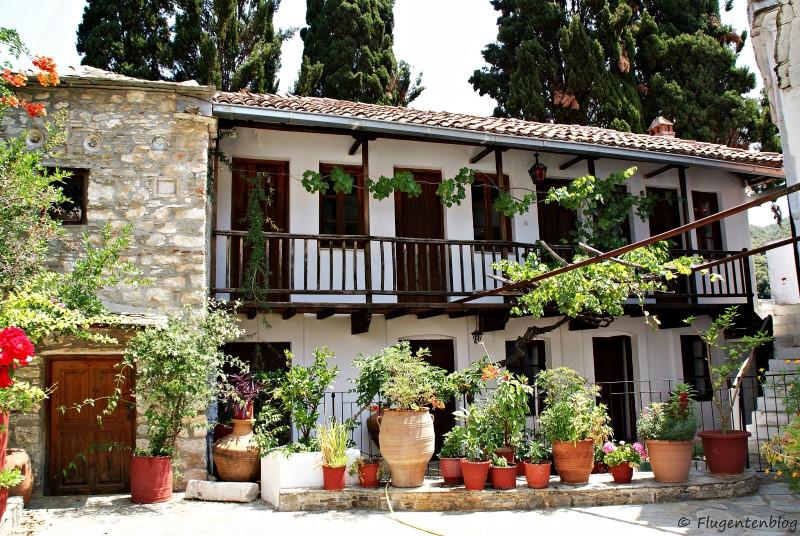 Griechenland Skopelos Kloster Metamorfosi