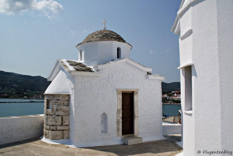 Griechenland Skopelos Kirchen Nikolaos