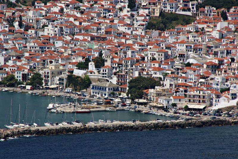 Griechenland Skopelos Chora