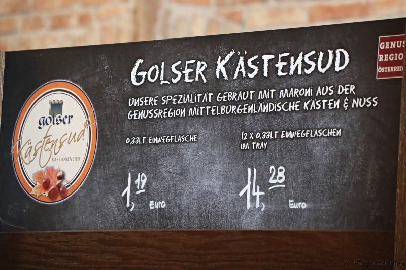 Burgenland Pannonisches Bier Golser Bier