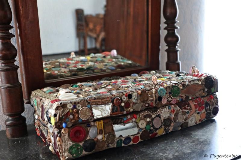 Dorfmuseum Moenchhof selbst gebastelte Schmuckschatulle