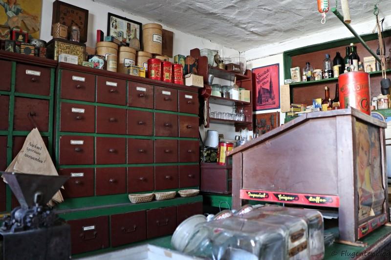 Dorfmuseum Moenchhof alte Greißlerei