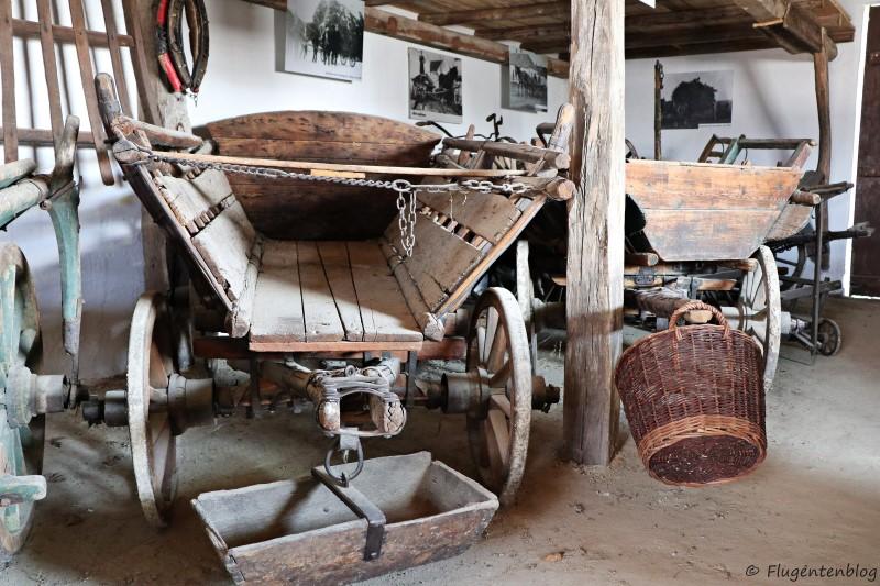 Dorfmuseum Mönchhof Leiterwagen