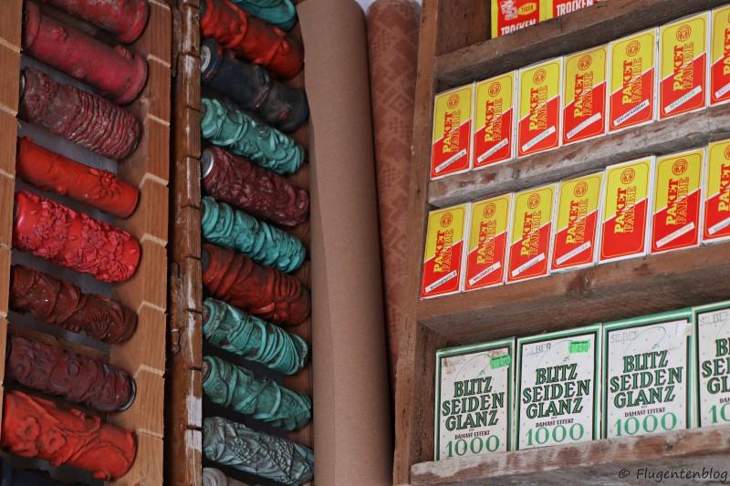 Dorfmuseum Moenchhof Werkzeug des Malers