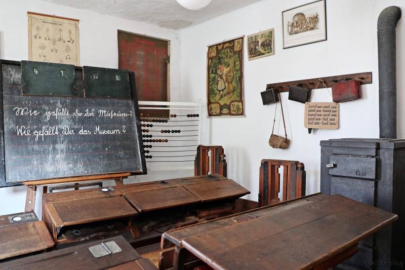 Dorfmuseum Mönchhof altes Klassenzimmer