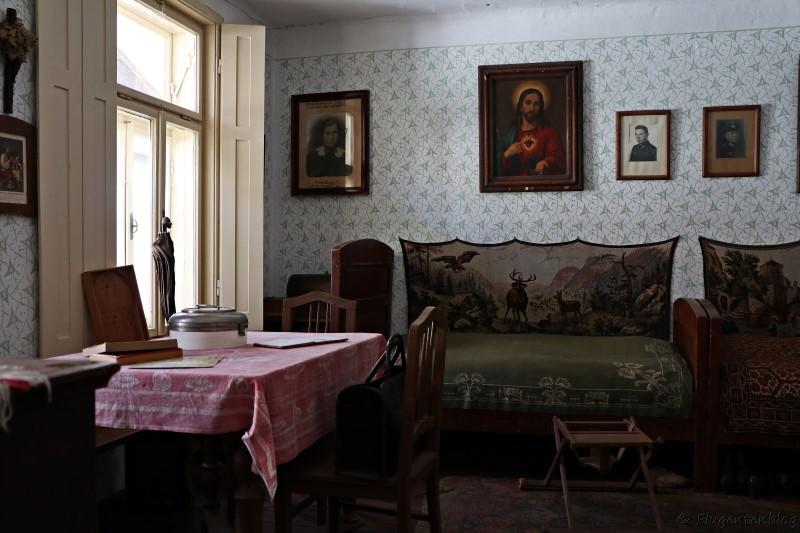 Dorfmuseum Moenchhof Stube im Bauernhaus