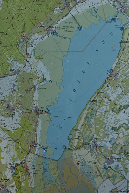 Neusiedler See Karte