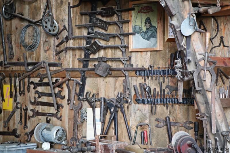 Dorfmuseum Moenchhof alte Werkstatt