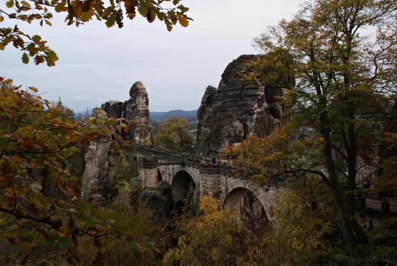 Bastei Bruecke Saechsische Schweiz Dresden
