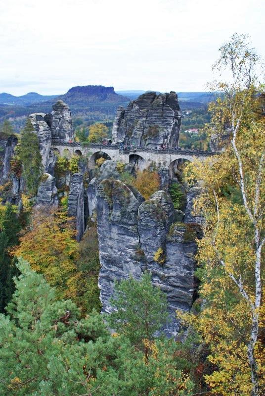 Bastei Elbsandsteingebirge Dresden