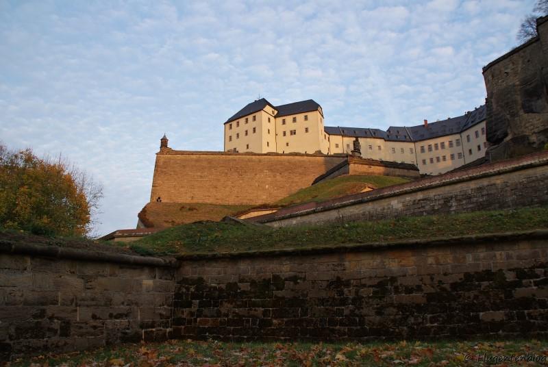 Saechssiche Schweiz Festung Koenigstein