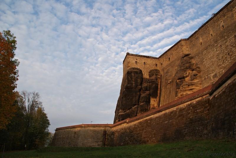 Saechsische Schweiz Festung Koenigstein