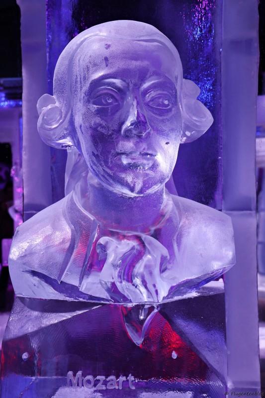 Eisbueste von Wolfgang Amadeus Mozart