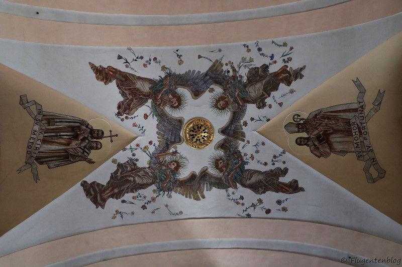 Deckenmalerei in der Hl. Jakob Kirche