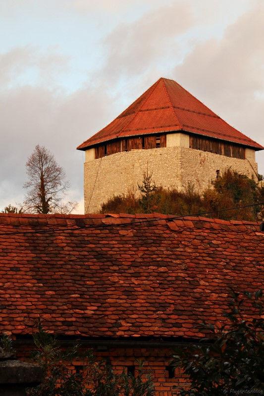 Westturm der Burg Mali Grad