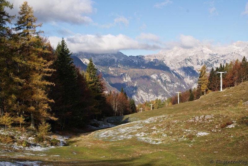 Bergpanorama Steiner Alpen
