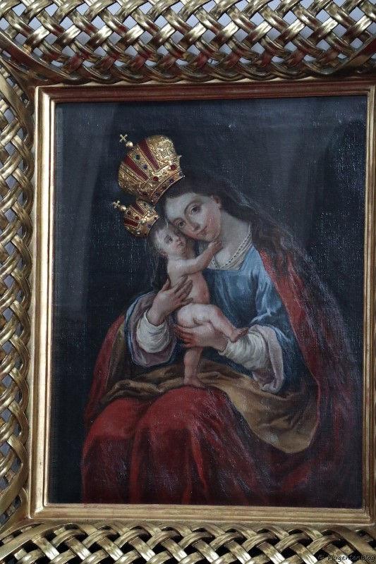 Ikonenbild in der Pfarrkirche Maria Verkündigung