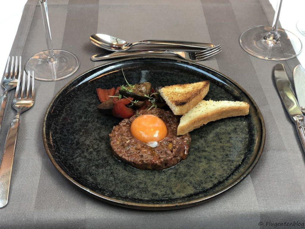 Avita Resort Hotel Restaurant Beef tartar
