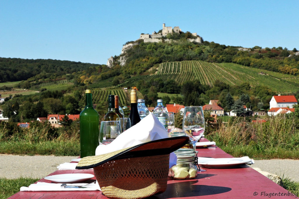 Ausflugsziele Weinviertel Falkenstein Picknick