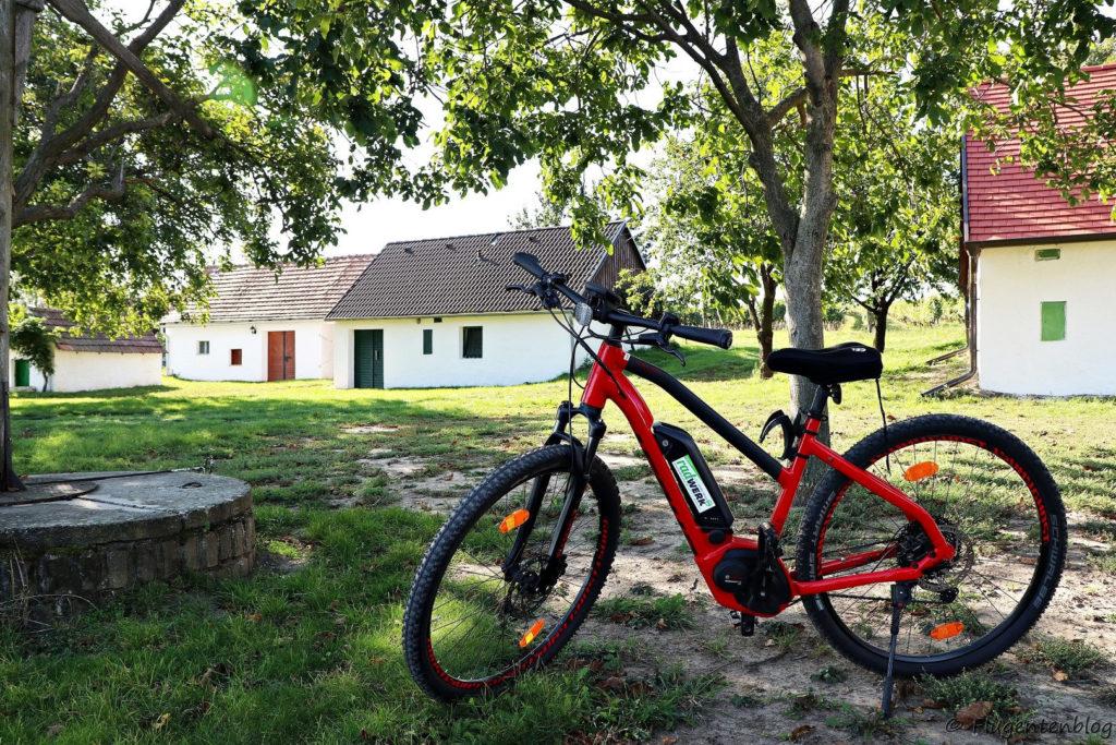 Ausflugsziele Weinviertel Radfahren Kellergassen Ebike