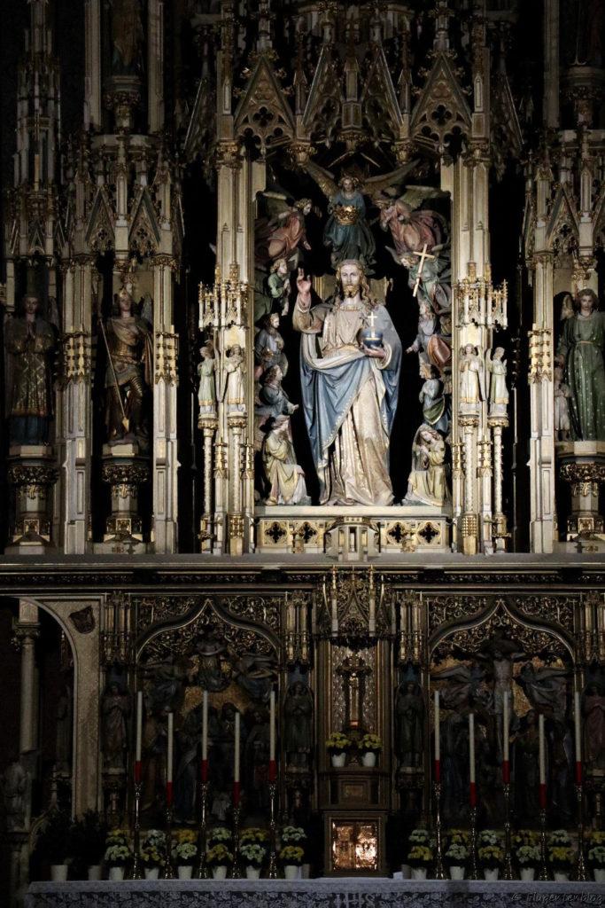 Wien Augustinerkirche Altar