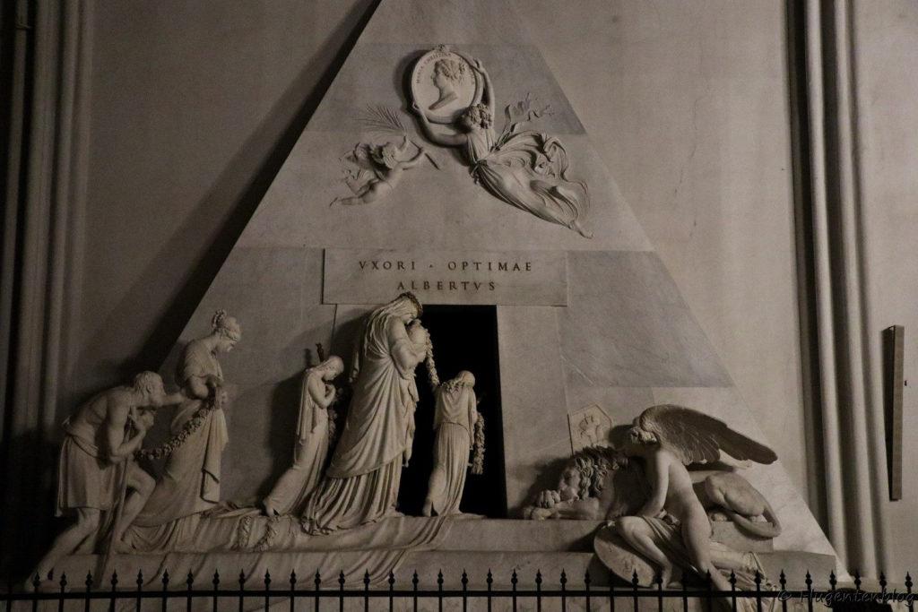 Morbides Wien Augustinerkirche Grabdenkmal Canova Erzherzogin Marie Christine