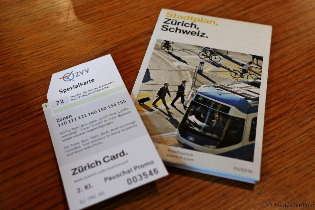 Zuerich Card empfehlen