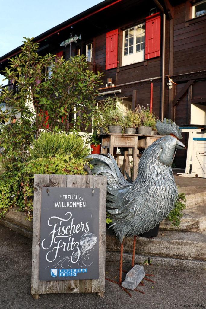 Zuerich essen Restaurant Fischers Fritz